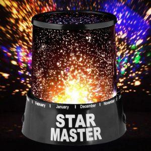 Звездна лампа планетариум Star Master - проектор на звездно небе