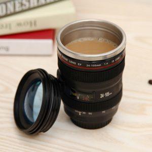 Термо чаша фотообектив Canon-EF 24-105mm - за кафе или чай