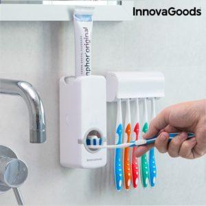 Автоматичен диспенсър за паста за зъби InnovaGoods