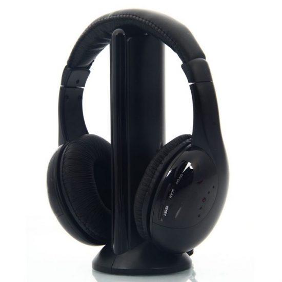 Безжични слушалки 5 в 1 - мултимедиен пакет