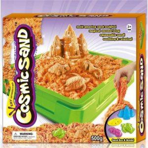 Кинетичен пясък за деца - за игра и моделиране 500гр