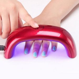 мини UV LED лампа за нокти