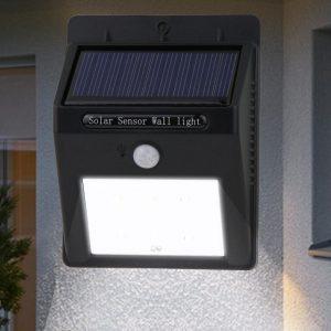Соларна LED лампа със сензор за движение Ever Brite