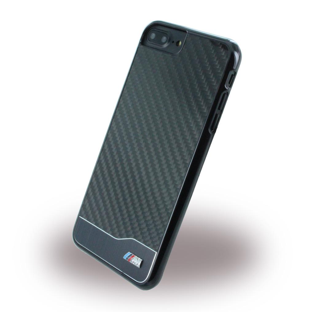 Bmw Bmhcp7lmdcb M Sport Carbon Fiber Black твърд кейс за Apple Iphone 7 Plus Stemago