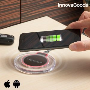 Qi безжично зарядно за телефон InnovaGoods