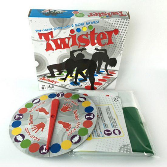 Игра Twister - Туистър за семейството