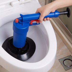 Пистолет за отпушване на канали, тръби и тоалетни