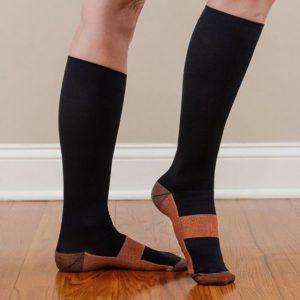 Компресивни чорапи за разширени вени Miracle Copper