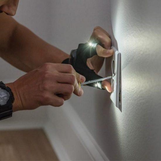 Работна светеща ръкавица с LED светлина Atomic Beam Glove
