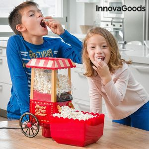 Машина за пуканки за вкъщи InnovaGoods Sweet & Pop Times 1200W