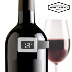Термометър за вино Summum Sommelier - дигитален за бутилка