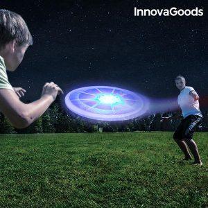 LED светещо фризби InnovaGoods