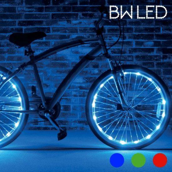 LED светлини за колело BW LED - за гуми на велосипед