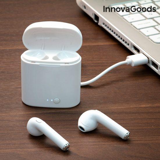 Безжични блутут слушалки за телефон InnovaGoods SmartPods