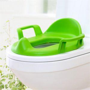 Детска седалка за тоалетна чиния с дръжки