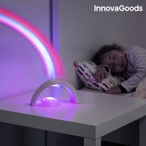 Детски LED проектор дъга InnovaGoods