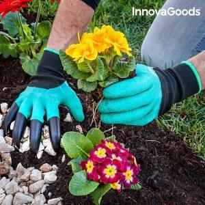 Градински ръкавици с нокти InnovaGoods