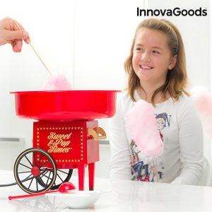 Домашна машина за захарен памук InnovaGoods Sweet & Pop Times