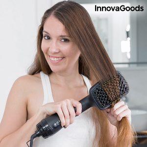 Електрическа четка за изсушаване и изправяне на коса 1000W InnovaGoods