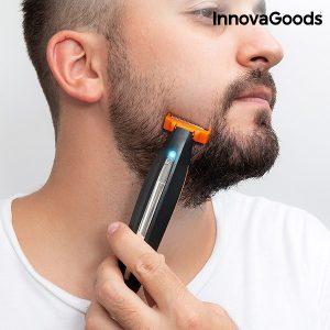 Мъжки тример за брада InnovaGoods - 3 в 1