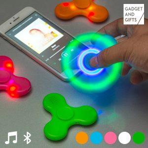 Fidget Spinner с LED светлина и Bluetooth колонка InnovaGoods