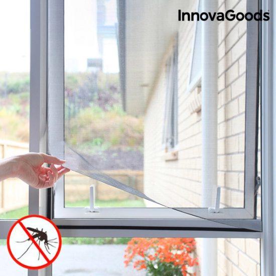 Комарник за прозорец лепящ - мрежа против комари и насекоми