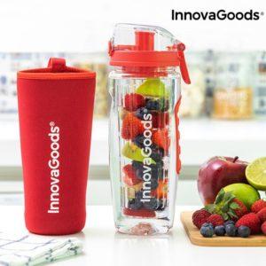 Бутилка с инфузер за плодове InnovaGoods Infuser XL