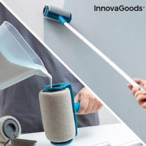 Валяк за боядисване с резервоар против капане и приставки InnovaGoods Roll n' Paint 5 в 1
