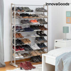 Голяма сглобяема етажерка InnovaGoods - за до 45 броя обувки