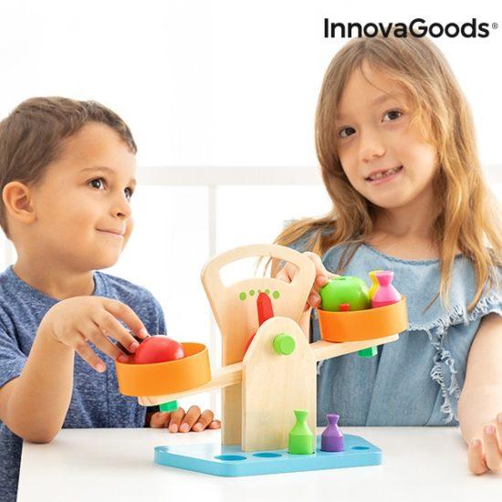 Детска дървена везна InnovaGoods Treggy