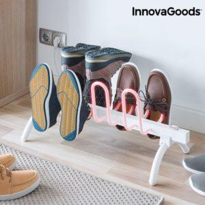 Електрически сушилник за обувки InnovaGoods 80W - бял