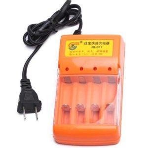 Зарядно за батерии тип АА и AAA - 4 броя