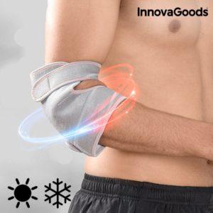 Лента за лакът InnovaGoods с топъл и студен гел