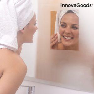 Лента за огледало за баня против изпотяване InnovaGoods - 2 броя