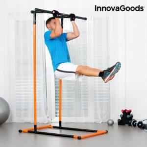 Лост и успоредка за вкъщи InnovaGoods Full Body - стойка за кофички и набиране с наръчник за упражнения