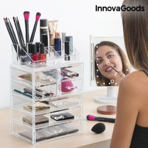 Луксозен органайзер за бижута и козметика InnovaGoods