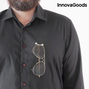 Магнитен държач за очила InnovaGoods - 2 броя