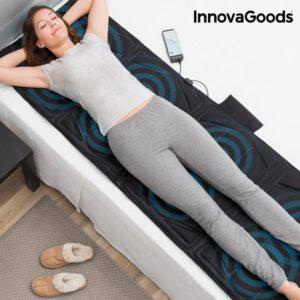 Масажираща подложка за цялото тяло InnovaGoods 14W Black Relax Cloud