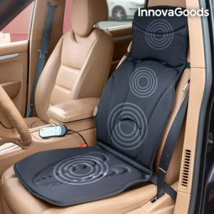 Масажираща постелка за кола за шиацу масаж InnovaGoods