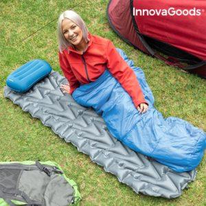 Надуваем дюшек за спане с възглавница InnovaGoods Ultralight
