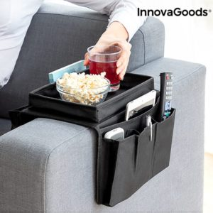 Поставка за диван с органайзер за дистанционни и телефони InnovaGoods
