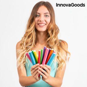 Пръчки за къдрене на коса InnovaGoods Bendy Roller - 42 броя