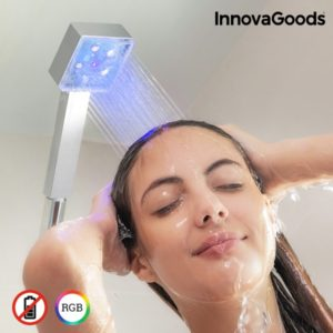 Светеща душ слушалка с 3 цвята InnovaGoods