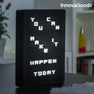 Светещо табло за съобщения InnovaGoods