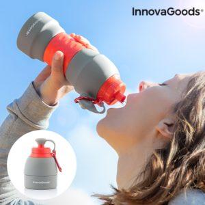 Сгъваема бутилка за вода InnovaGoods