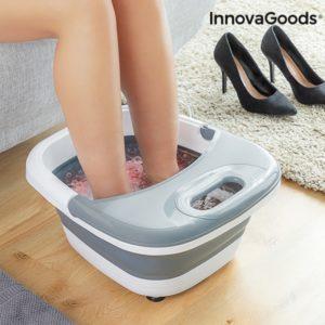 Сгъваема масажираща спа вана за крака с мехурчета InnovaGoods Aqua Relax