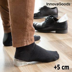 Силиконови стелки за увеличаване на ръста с 5 см InnovaGoods