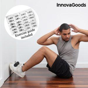 Уред за коремни преси за врата InnovaGoods - с програма за упражнения