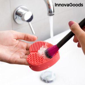 Уред за почистване на четки за грим във формата на сърце InnovaGoods