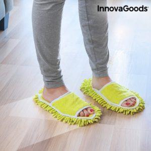 Чехли за чистене на под InnovaGoods Mop & Go Slippers
